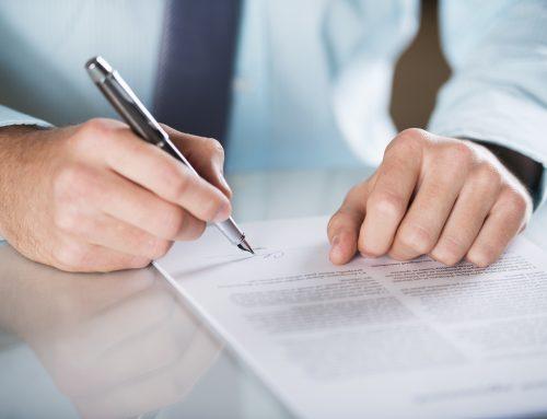 Der letzte Check vor der Vertragsunterzeichnung